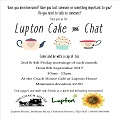 Cake & Chat at Lupton House