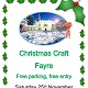 Image of Christmas Craft Fayre Leaflet