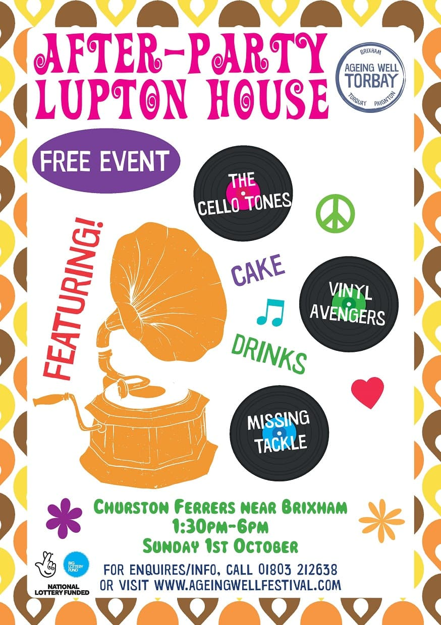 After-Party - Ageing Well Festival 2017 - Event at Lupton House