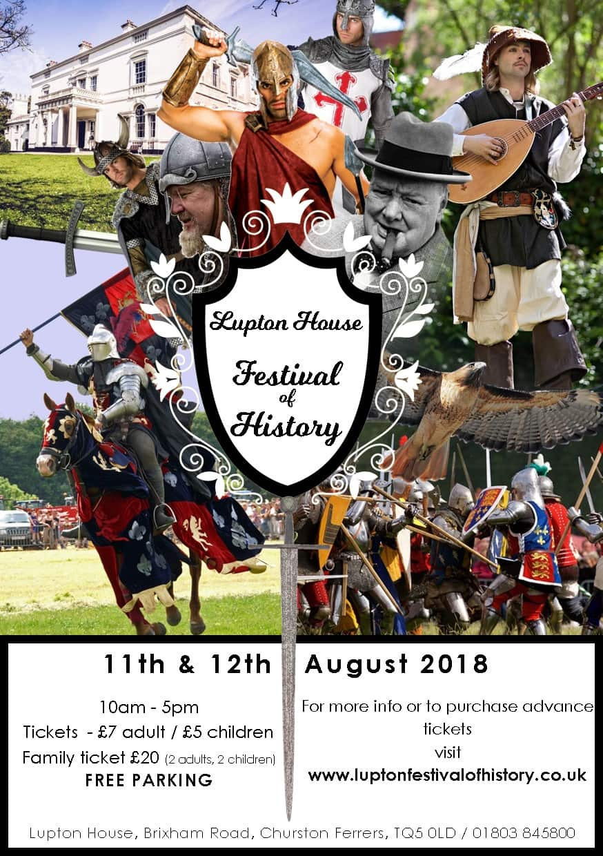 Festival of History - Event at Lupton House