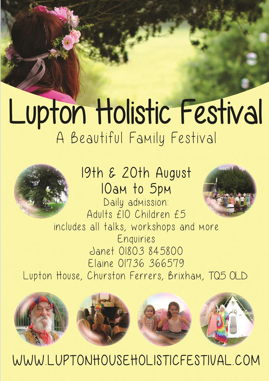 Lupton Holistic Festival - Event at Lupton House