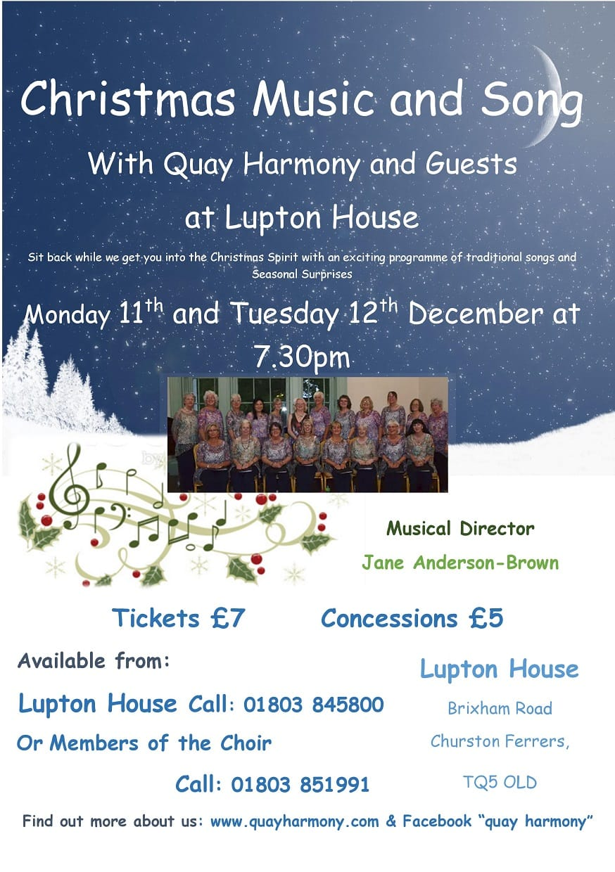 Christmas Musicand Song - Event at Lupton House