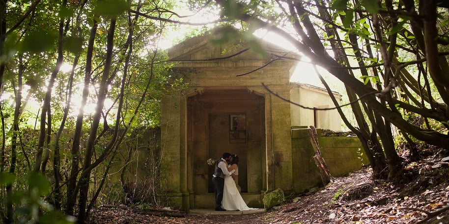 Photo of a Wedding at Lupton House
