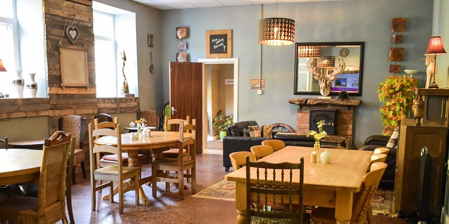 Picture of the Coach House Cafe inside