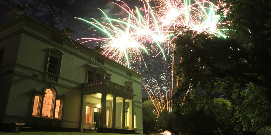 Fireworks at Lupton House